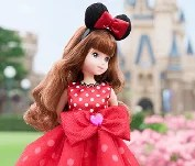 超級可愛!東京迪士尼度假區 時裝人偶♡
