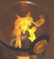 水晶玻璃製神奇寶貝球