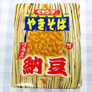 這樣吃也好吃!PEYANGU_日式醬汁炒麵+納豆