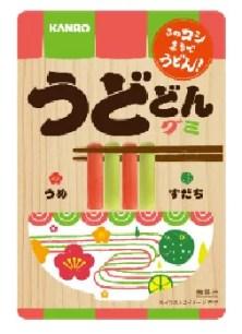KANRO うどどん(udodon)軟糖