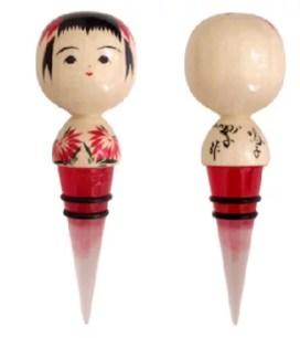 日本的傳統!可愛的木芥子紅酒開瓶栓🍷