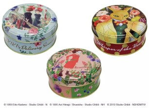 吉卜力xLUPICIA再度聯手!「唯美水彩筆觸設計原創風味茶葉罐」10月7日起於橡子共和國專賣店開始販售~
