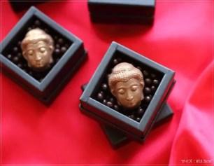 讓人猶豫不已究竟該不該吃的「大佛巧克力」