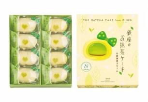 必買伴手禮☆「東京香蕉」的姊妹商品「銀座的抹茶蛋糕」☆