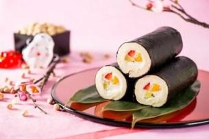 """節分的新選擇☆甜點店Mon cher推出 """"惠方卷甜點""""像是海苔飯卷般的堂島蛋糕捲"""