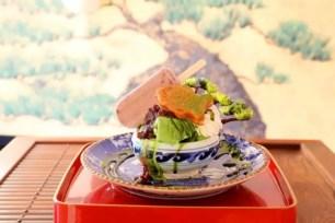 份量與視覺的雙重震撼!原宿「鶴亀樓」好吃又上鏡的盆栽聖代☆