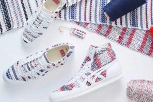 Onitsuka Tiger與山形縣老字號紡織製造商再推聯名新款!針織粗花呢鞋款開賣☆