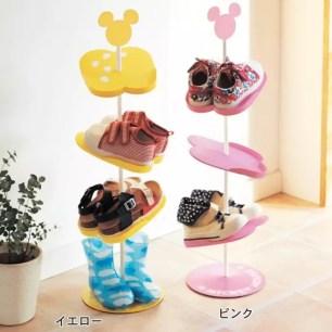 米奇的魔法☆讓小朋友乖乖把鞋子放好的「能好好擺放整齊的孩童用鞋架」
