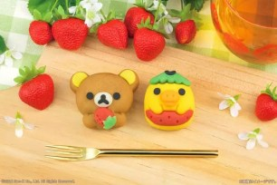 日本LAWSON限定和菓子♥『Taberareru Mascot 懶懶熊 草莓懶懶熊 』5月15日起數量有限!