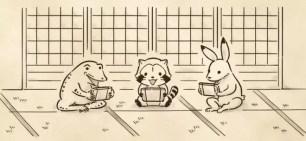 咦!本來有浣熊的嗎?「浣熊拉斯卡爾」與日本國寶「鳥獸人物戲畫」聯名周邊商品
