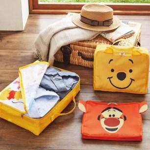 不僅要整齊俐落也要可愛療癒♫ entrex迪士尼款式「旅行衣物收納整理袋」