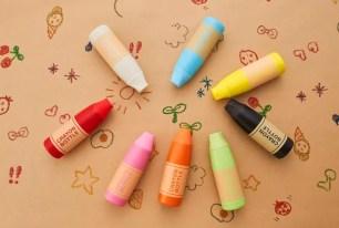 DOSHISHA繽紛多彩8色『蠟筆造型保溫瓶』