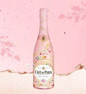 Café de Paris新商品♡櫻花色氣泡酒「Café de Paris Colorful Party Sweet・櫻桃」