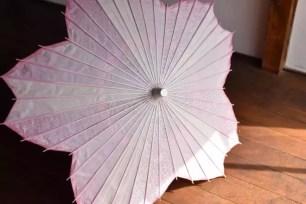 櫻花瓣造型的和風唯美和傘❀「櫻花型和傘」4月1日起開始販售