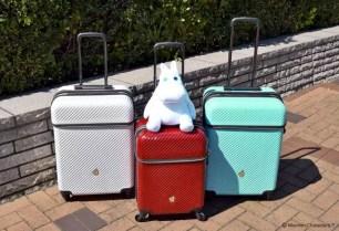 帶著嚕嚕米旅行去吧~附機能性玩偶的「嚕嚕米 前開式行李箱」共2種尺寸・3色