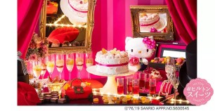 Hilton大阪「Fashionable・Hello Kitty」甜點吃到飽活動進行中♪