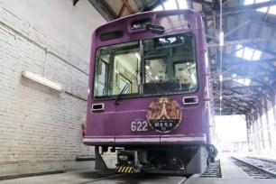 乘車有觀音保佑!期間限定行駛中的京都嵐電「觀音電車」上車後小心別嚇到