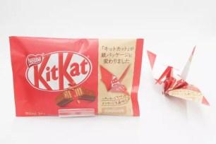 外包裝可以折成紙鶴!「KitKat」5種家庭號大包袋自2019年9月下旬起改為紙材包裝