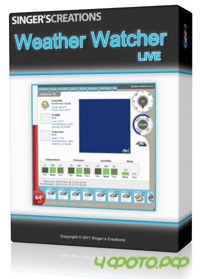 Weather Watcher Live v7.0.98 portable » 4Фото.рф - всё для ...