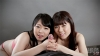 Mai Araki & Yui Kawagoe's double handjob