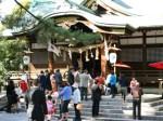 莵橋神社 おすわさん