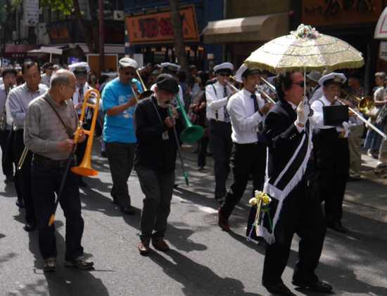 神戸ジャズストリート パレード