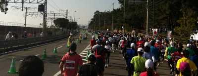 神戸マラソン国道2号線交通規制