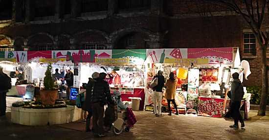 神戸ルミナリエ イタリアテーマエリア