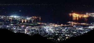 摩耶山掬星台の夜景