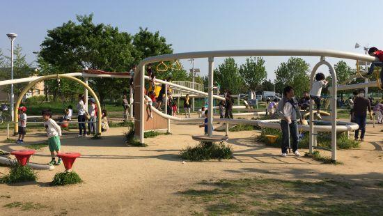 芦屋市総合公園 遊具広場