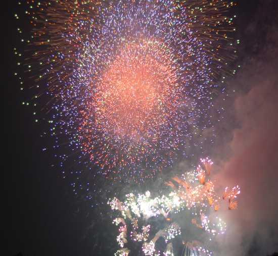 神戸花火大会 北公園