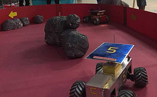 月面探査無人運転