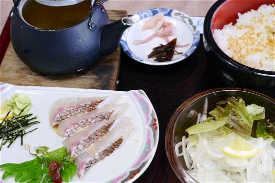 淡路島 鯛茶漬け丼