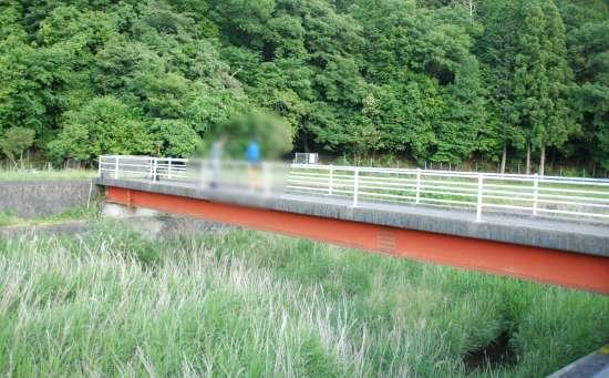 秋葉橋 公民館近くの橋