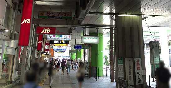 三宮駅から神姫バス