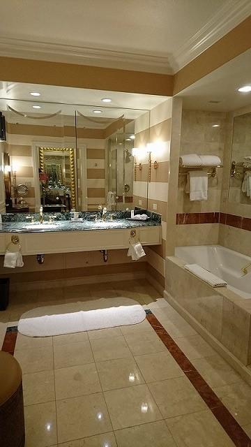 ベネチアン ホテル バスルーム 部屋