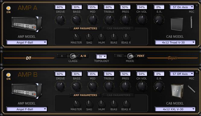 POD HD 音作り Symphony Xマイケル・ロメオその3 アンプ