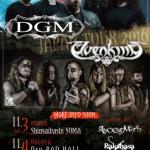 DGM – ELVENKING 来日 JAPAN TOUR 2016