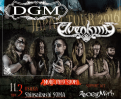 DGM ELVENKING 来日 JAPAN TOUR 2016