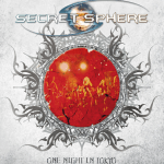 SECRET SPHERE ライブDVD+CD 「ONE NIGHT IN TOKYO」