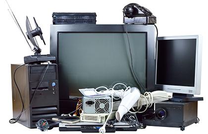 テレビなどの不用品
