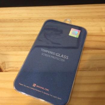 WANLOK 2015 新設計 大きめサイズ Apple iPhone6 4.7インチ 強化ガラス製 液晶保護フィルム 厚さ0.3mm NSG 日本板硝子社国産ガラス採用 ガラスフィルム 2.5D 硬度9H ラウンドエッジ加工 大きめサイズ (1枚組)