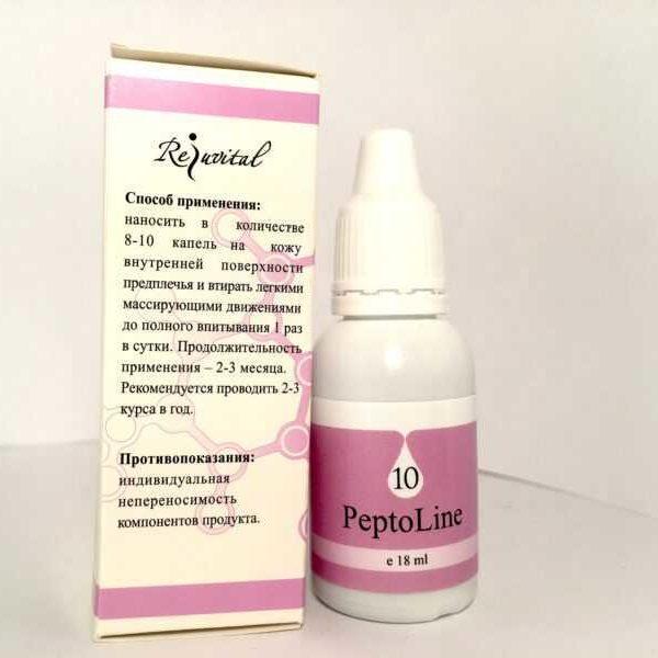 Фото Пептолайн от варикоза состав и способ применения