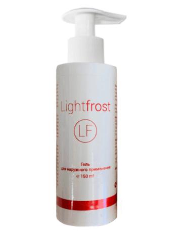 Light frost гель для обезболивания