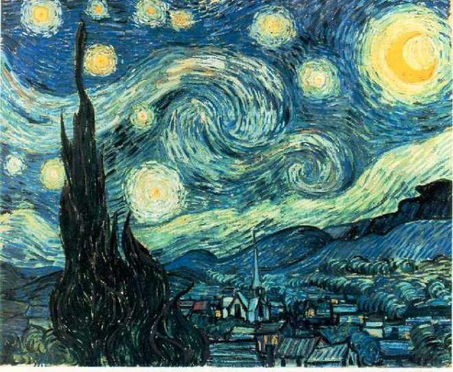Звёздная ночь (1889)