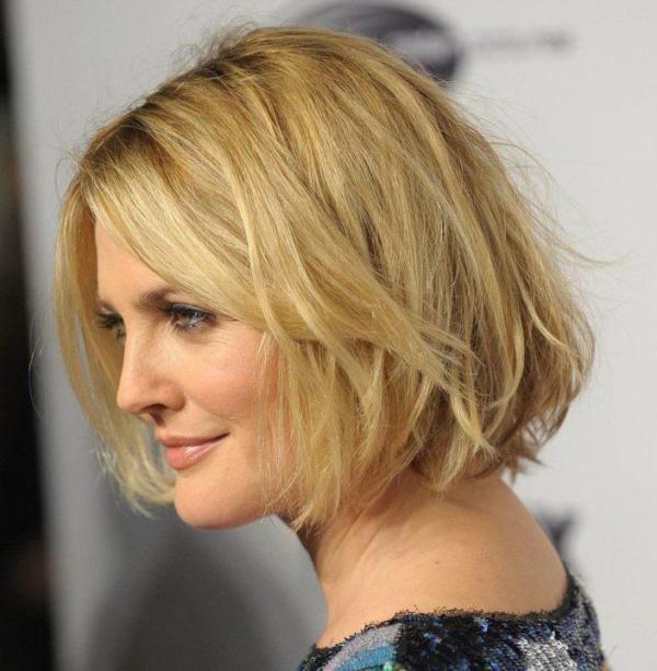 Фото стрижек на средние волосы для женщин 40 лет ...