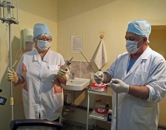 Подготовка к цистоскопии