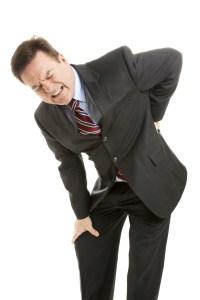 мужчина с болями в спине