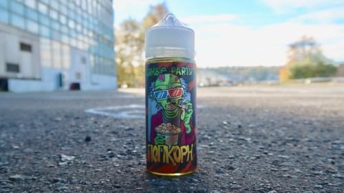 Жидкость вейп Zombie Party Попкорн Красноярск