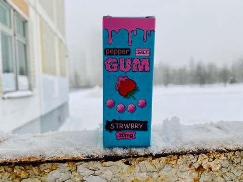 Жидкость Pepper Gum Salt STRWBRY вкусипар.рф